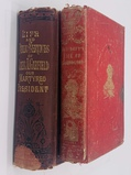 TWO Antique Books on Presidents - Life of George Washington (1841) & Life of James Garfield (c.1880)
