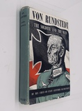 Von Rundstedt: The Soldier And The Man by Guenther Blumentritt (1952) NAZI Germany Field Marshall