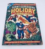 Large GIANT SUPERHERO HOLIDAY GRAB-BAG Comic Book - Large Format