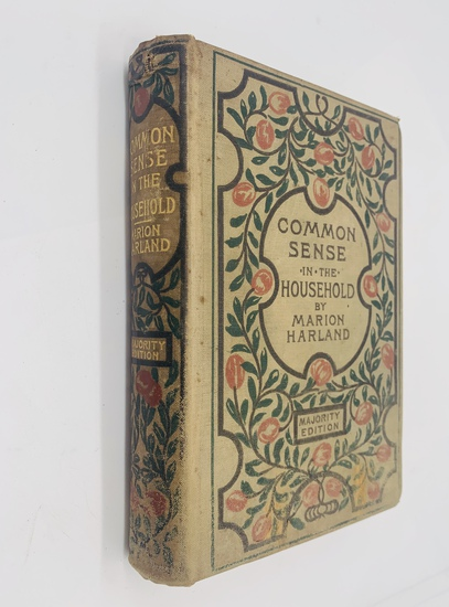 Common Sense in the Household: A Manual of Practical Housewifery (1898) Cookbook - Recipes