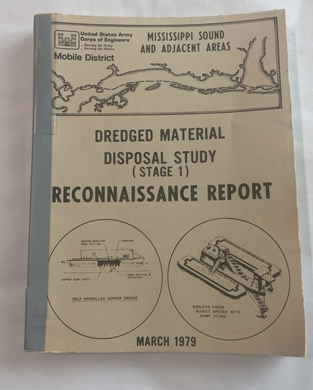 MISSISSIPPI Sound Reconnaissance Report (1979) Dredged Materials