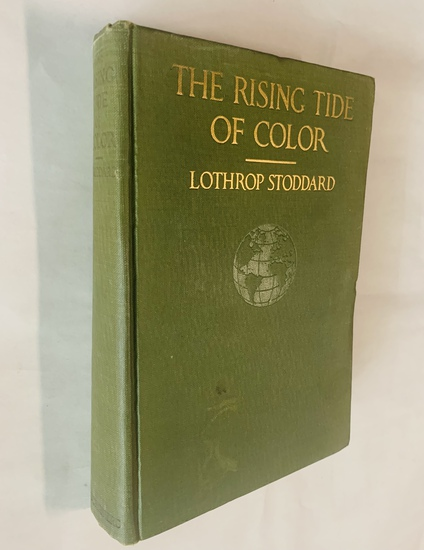 The Rising Tide of Color Against White World-Supremacy (1920) Lothrop Stoddard