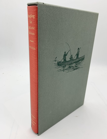 LIMITED SIGNED Angling for Atlantic Salmon Woods (1976) FISHING