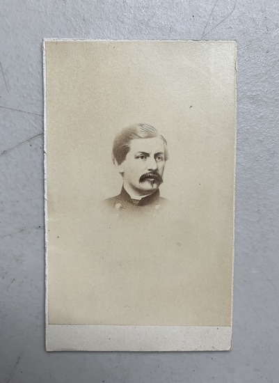 CIVIL WAR CDV of General George B. McClellan (1865)