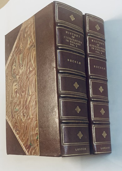 History of Civilization in England (1858) Two Volume Set