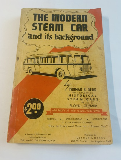 The Modern STEAM CAR and its Background by Thomas S. Derr (1958)