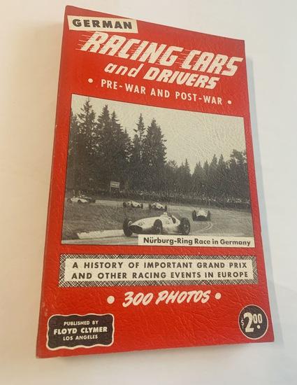 GERMAN RACING CARS and Drivers - Pre-War and Post-War (1950)