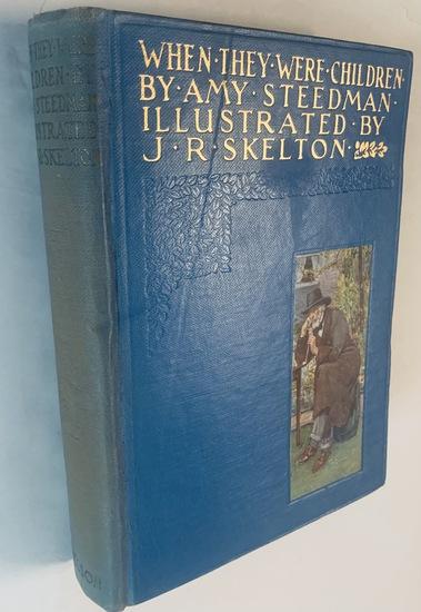 When They Were Children by Amy Steedman (c.1900) CHILDREN'S BOOK