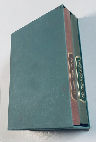 Andersen's Fairy Tales and Grimms' Fairy Tales (1945) Two Volumes in Slipcase