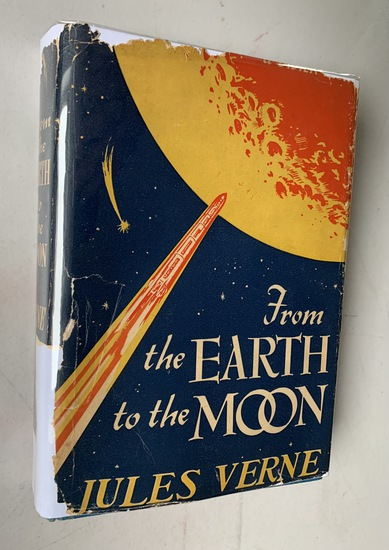 From the Earth to the Moon and a Tour of the Moon by JULES VERNE (1949)