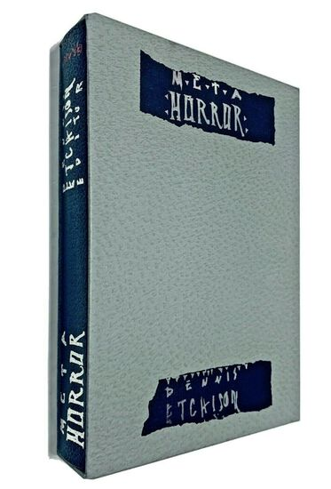 META HORROR Dennis Etchison - Limited Signed Slipcased Edition (1992) SIGNED BY 22 CONTRIBUTORS