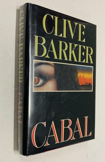 SIGNED Cabal by CLIVE BARKER (1988)