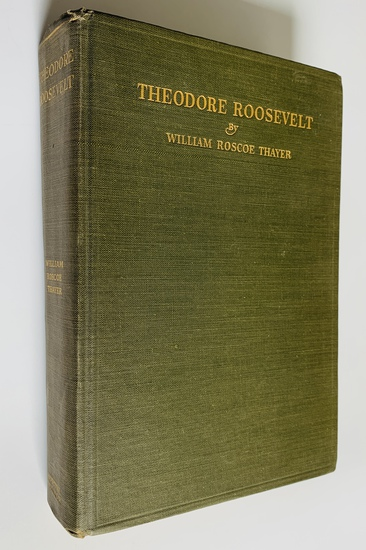 THEODORE ROOSEVELT An Intimate Biography (1920)