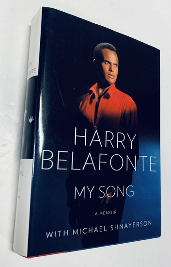 SIGNED HARRY BELAFONTE My Song