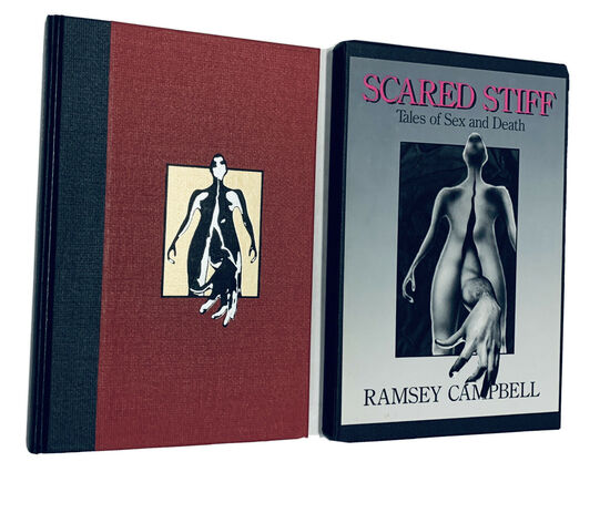 SIGNED LIMITED EDITION Scared Stiff, Tales of Sex and Death (1987) with Slipcase - Only 250 Copies