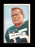 1952 Bowman Large Football Card Scarce Short Print #45 Hall of Famer Steve