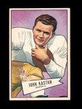 1952 Bowman Large Football Card Scarce Short Print #81 Rookie John Kastan N