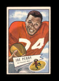 1952 Bowman Large Football Card #83 Hall of Famer Joe Perry San Francisco 4