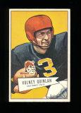 1952 Bowman Large Football Card Scarce Short Print #109 Rookie Volney Quinl