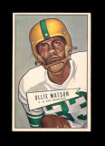 1952 Bowman Large Football Card Scarce Short Print #127 Rookie Hall of Fame