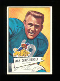1952 Bowman Large Football Card #129 Rookie Hall of Famer Jack Christiansen