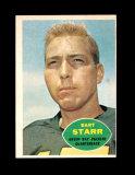 1960 Topps Football Card #51 Hall of Famer Bart Starr Green Bay Packers. EX