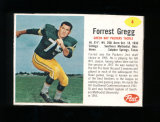 1962 Post Cereal Football Card #4 Hall of Famer Forrest Gregg Green Bay Pac