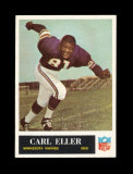 1965 Philadelphia Football Card #105 Rookie Hall of Famer Carl Eller Minnes