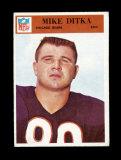 1966 Philadelphia Football Card #32 Hall of Famer Mike Ditka Chicago Bears.