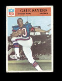1966 Philadelphia Football Card #38 Rookie Hall of Famer Gale Sayers Chicag