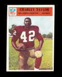 1966 Philadelphia Football Card #194 Hall of Famer Charley Taylor Washingto