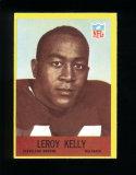 1967 Philadelphia Football Card #43 Rookie Hall of Famer Leroy Kelly Clevel