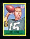 1967 Philadelphia Football Card #82 Hall of Famer Bart Starr Green Bay Pack