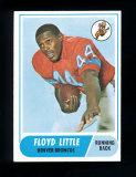 1968 Topps Football Card #173 Rookie Hall of Famer Floyd Little Denver Bron
