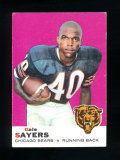 1969 Topps Football Card #51 Hall of Famer Gale Sayers Chicago Bears. EX/MT