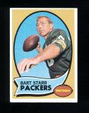 1970 Topps Football Card #30 Hall of Famer Bart Starr Green Bay Packers. EX