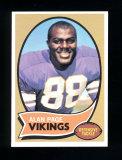 1970 Topps Football Card #59 Rookie Hall of Famer Alan Page Minnesota Vikin