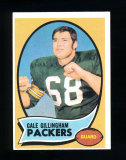 1970 Topps Football Card #131 Gale Gillingham Green Bay Packers. EX/MT-NM C