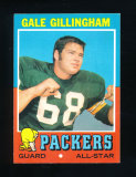 1971 Topps Football Card #83 Gale Gillingham Green Bay Packers. EX/MT-NM Co
