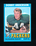 1971 Topps Football Card #162 Donny Anderson Green Bay Packers. EX/MT-NM Co