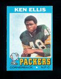 1971 Topps Football Card #224 Ken Ellis Green Bay Packers. EX/MT-NM Conditi