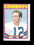 1972 Topps Football Card #200 Rookie Hall of Famer Roger Staubach Dallas Co