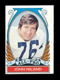 1972 Topps Football Card (Very Very Scarce High Number) #268 All Pro John N