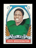 1972 Topps Football Card (Very Very Scarce High Number) #273 All Pro John B