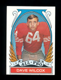 1972 Topps Football Card (Very Very Scarce High Number) #282 All Pro Hall o