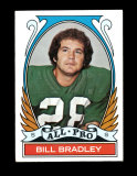 1972 Topps Football Card (Very Very Scarce High Number) #286 All Pro Bill B