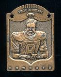 1997 Pinnacle X-press Metal Works Bronze Football Card #1 of 20 Hall of Fam