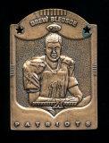 1997 Pinnacle X-press Metal Works Bronze Football Card #6 of 20 Drew Bledso