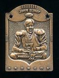 1997 Pinnacle X-press Metal Works Bronze Football Card #9 of 20 Hall of Fam