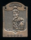 1997 Pinnacle X-press Metal Works Bronze Football Card #10 of 20 Hall of Fa